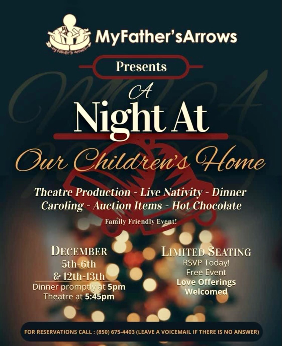 My Father's Arrows Christmas Fundraiser