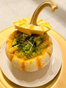 pumpkin serving